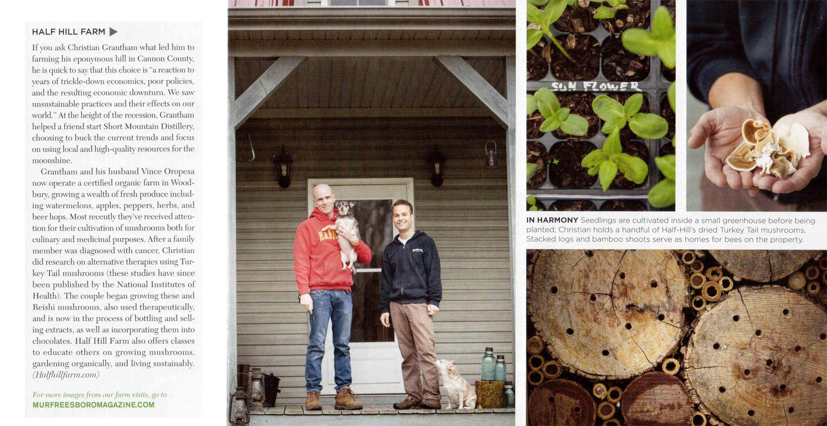 Half Hill Farm - Murfreesboro Magazine